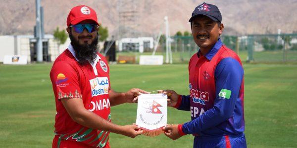 नेपाल ओमानसँग ५ विकेटले पराजित