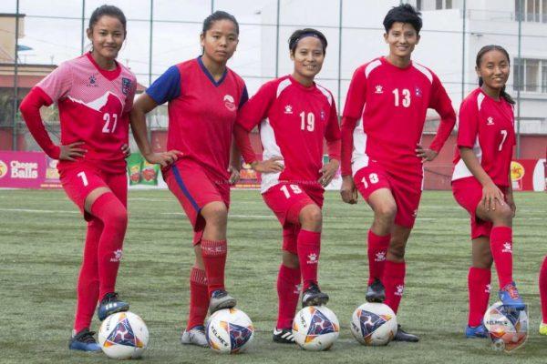 बंगलादेशविरुद्ध खेल्दै नेपाल