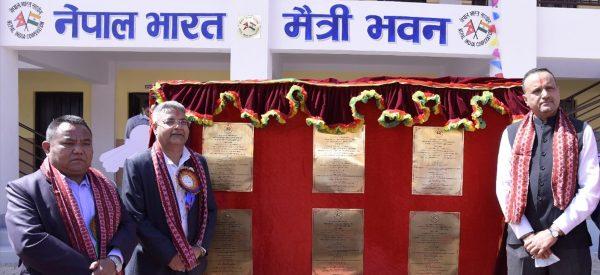 भारतीय सहयोगमा बनेका काभ्रेका ६ विद्यालय उद्घाटन