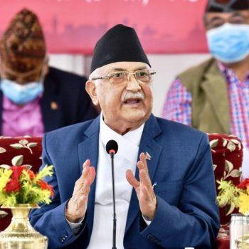 ''कसैले बनाइदिएको संविधान उपभोग गर्न होइन, हामी समृद्ध नेपाल बनाउन आएका हौं''