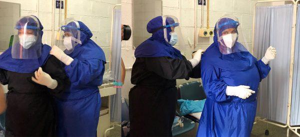 जसले जोखिम मोलेर अस्पताल सफा राखे