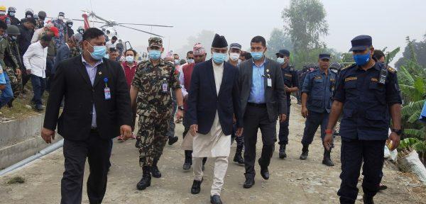 प्रदेश सरकारका मन्त्रीसँग प्रधानमन्त्री देउवाको छलफल