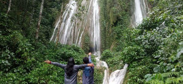 रामपुरको छाङ्दी झरनामा पर्यटकको आकर्षण