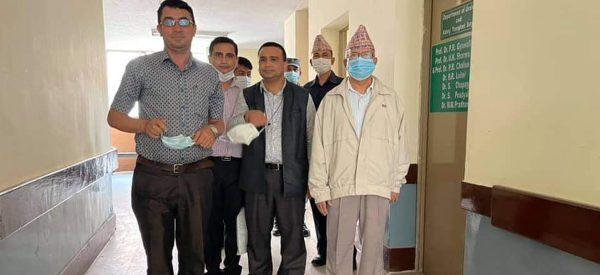 अस्पतालबाट डिस्चार्ज भए माधव नेपाल