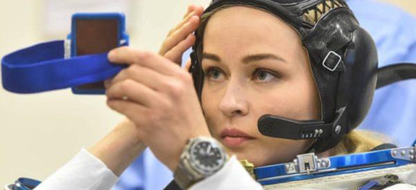 रूसी अभिनेत्री चलचित्र छायांकनका लागि अन्तरिक्षमा