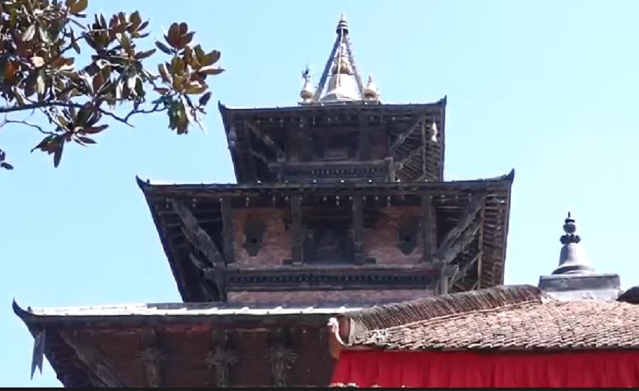 महानवमीमा एक दिनका लागि खोलियो तलेजु भवानी मन्दिर